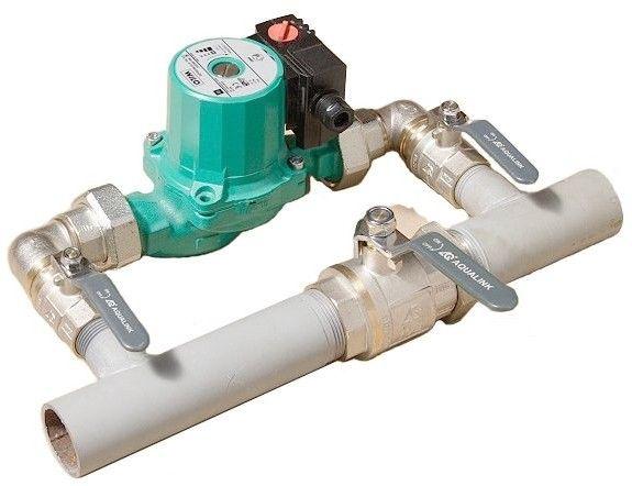 циркуляционные насосы для систем отопления установка