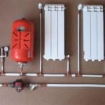 Однотрубна система опалення з примусовою циркуляцією