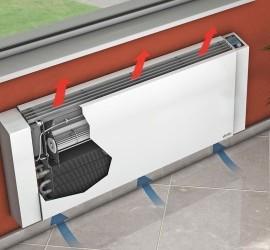 Конвектор водяного отопления настенный