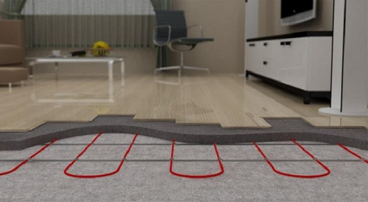 Тепла підлога під ламінат на бетонну підлогу