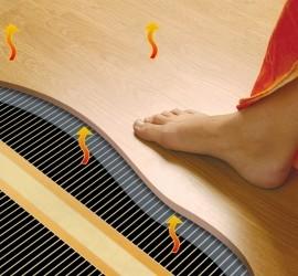 Как установить теплый пол под ламинат на бетонный пол