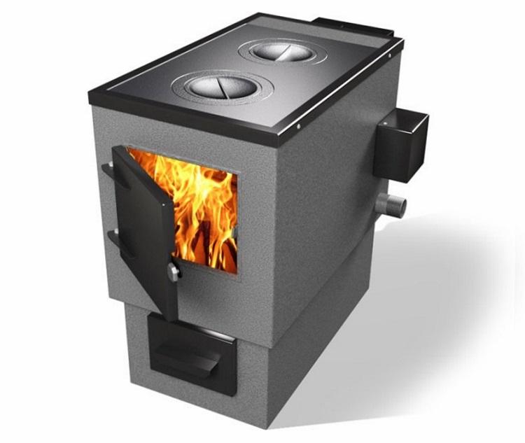 отопление на твердом топливе и электричестве