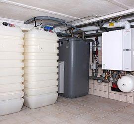 Дизельный котел отопления для частного дома