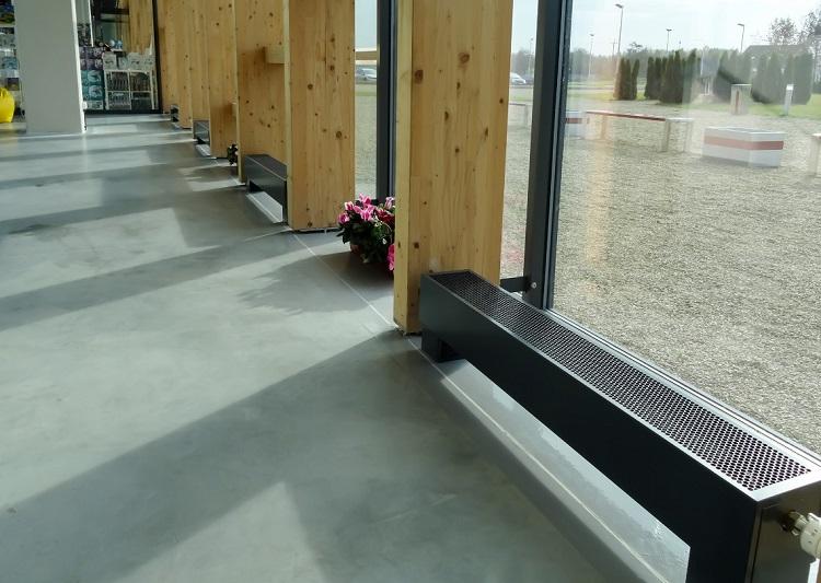 конвектори опалення водяні підлогові