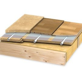 Как положить теплый пол под ламинат на деревянный пол