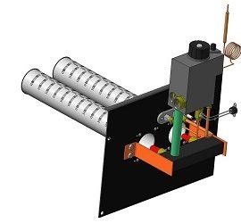 Газовий пальник для газового котла опалення