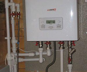Котел газовый двухконтурный настенный для отопления частного дома