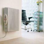 Електричні радіатори опалення настінні масляні